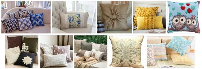 подушки декоративные в подарок